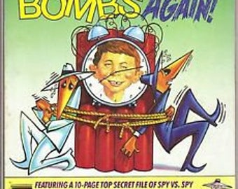 Humor MAD Magazine- Vintage Winter 1988 Super Special Mad Bombs Again!!
