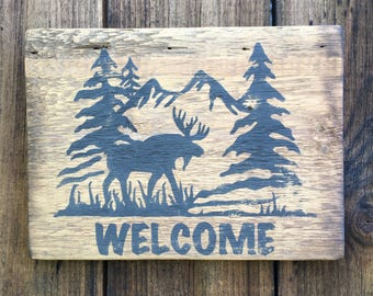 Custom Made Signs| Rustic Signs| Cabin Signs| Welcome Signs |Rustic