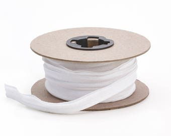 """Broadcloth cord piping, 1/2"""" Wide, 25 yds, White"""