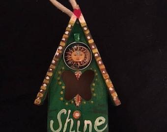 "Miniature ""Sunshine"" Birdhouse"