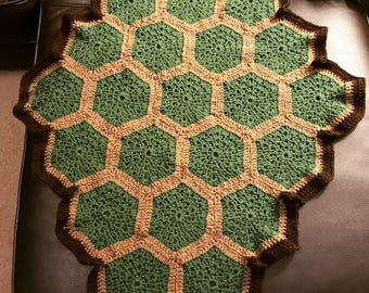 Turtle Shell Baby Blanket