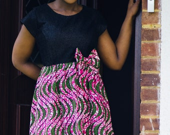 African Lady Beverly dress