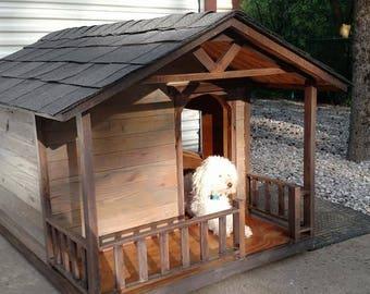 Shingle Roof Dog House