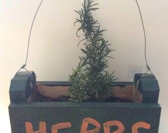 Small herb box