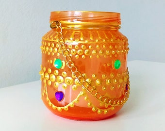 Moroccan Tea Candle 22
