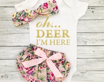 Newborn Girl Coming Home Outfit, Newborn Girl Outfit, Newborn Girl, Newborn Girl Clothes, Newborn Girl Gift, Newborn Coming Home Outfit