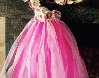 Tutu dress and headband