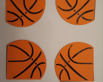 Basketball borders for scrapbooking