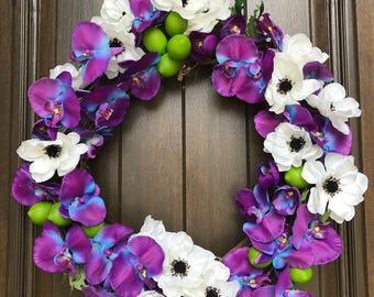 Tropical Lime Wreath