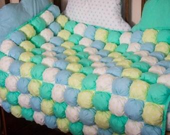 Patchwork quilt duvet for baby
