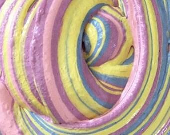 Purple yellow swirl