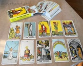 The Rider Tarot Deck - The Magician - Org Cards in Box 1971 Made in Switzerland