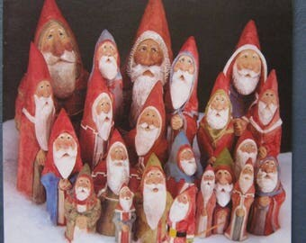 Santa and His Friends: Carving with Tom Wolfe Paperback Book