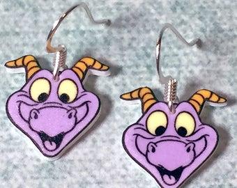 Figment earrings (White)