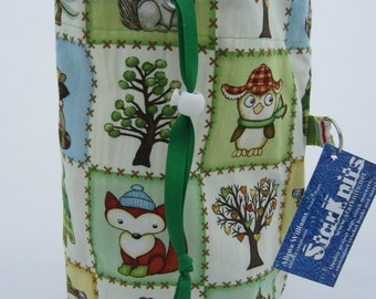 Forest Friends WIP Bag