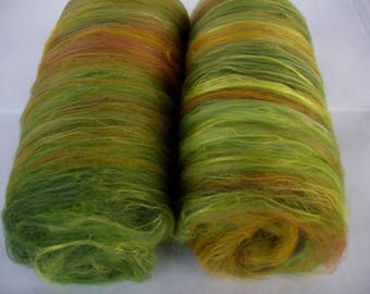 3.5oz, batts, spinning batts, felting batts, merino silk, batts for felting, batts for spinning, felting fiber, spinning fiber,fibre batts