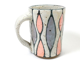 Colorful Handmade Coffee Mug - Pottery