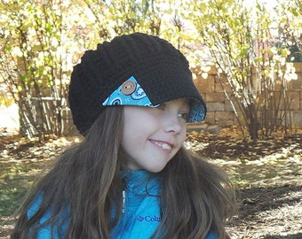 fabric brim hat button bandana print hat black crochet hat gifts for teens hats gifts for her cute winter hats valentine gift wholesale hats