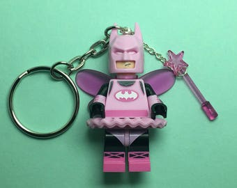 Lego Keychain / Phone Strap (The LEGO Batman Movie - Fairy Batman)