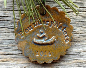 Boundary Waters 2016 Holiday Ornament