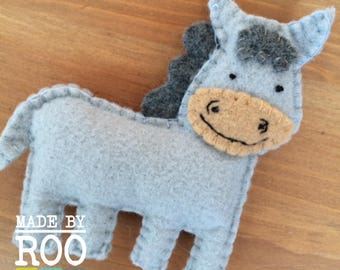 Barnyard Babies Magnets - Donkey