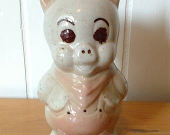 vintage pig salt or pepper shaker