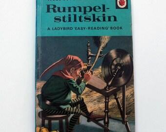 Vintage Ladybird Book - Rumpelstiltskin- very good vintage condition- children's story Book