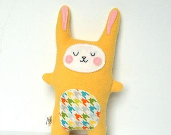 Baby Boy Gift, Plush Bunny, Rabbit Softie, Rabbit Doll, Stuffed Animal - Baby Shower Gift
