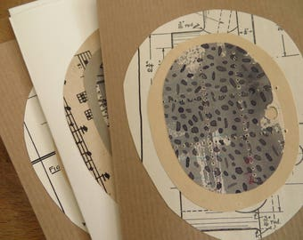 pack of 3 handmade cards by Olivia Jeffries