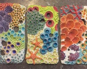 Coral Triptych RESERVED