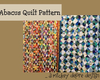 Abacus Quilt Pattern - Machine Piecing Instructions