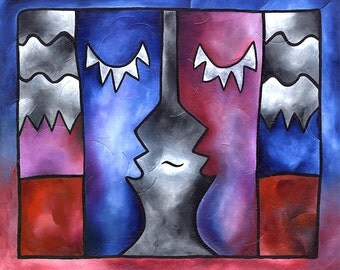 Conversation Peace - Large signed and numbered print by Joel Traylor