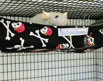 Rat Hammock, Basket Hammock,Rat Bed,Small Pet Hammock, rat hammock,Pet supplies, Pet accessories,small animal,Rat Cage Hammock