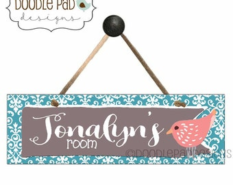 Personalized Door Sign, Laundry Room Sign, Craft Room Sign