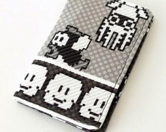 Retro NES 8 Bit Mario Mini Wallet ID Business Card Holder,Geek Wallet, Wee Wallet, Gamer Wallet, Nerd Wallet, Nintendo Vintage Gamer, Fandom