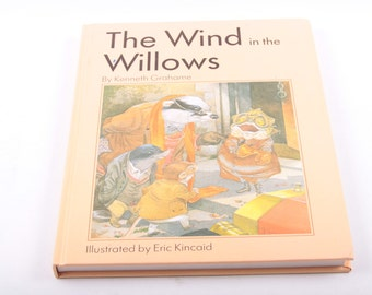 The Wind in the Willows, Eric Kincaid, Vintage, Children's, Book, Classic, Illustrated ~ The Pink Room ~ 170207