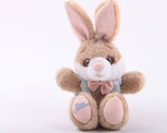 Peter Cottontail, Stuffed Animal, Plush, Bunny, Rabbit, Dressed, Tag, Woodland Hills, Vintage ~ The Pink Room ~ 160907