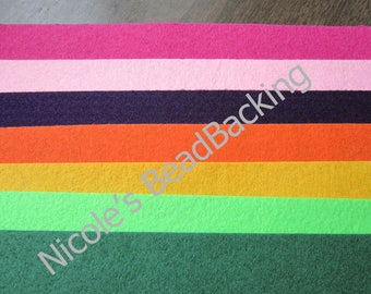 Nicole's BeadBacking NBB 9x6 Beading Soutache Painting Multimedia Art Fabric