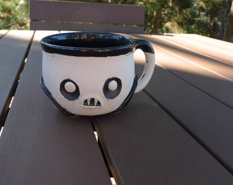 Vampire mug, Coleman's Porcelain. Hand thrown.