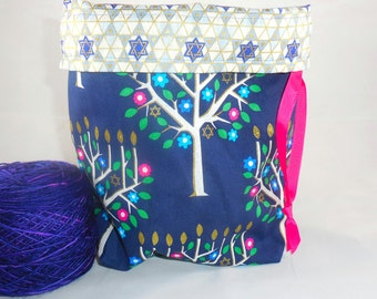 Tree of Life project bag by AnniePurl