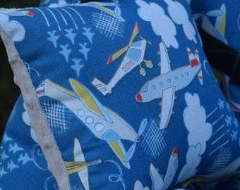 Shopping Cart Covers - Infant Shopping Cart Cover for  Baby Boy  -   Airplanes