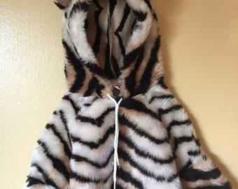 Vtg 1980s softest baby lion romper costume 6-12 months