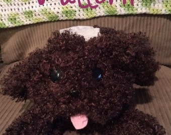 Yuri on ice  Makkachin Toy Poodle  tissue box cover PATTERN
