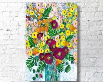 Canvas Print - Spring Bouquet - Wall Art