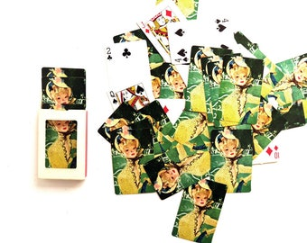 Vintage Playing Cards, Jean Gabriel Domergue, Paris French Parisian Pin Up Girls, Complete Full Deck Card Game Night