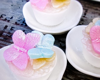 Garden Butterfly Soap, Butterfly Party, Birthday Party, 1st Birthday, Baby Shower Favor, Garden Party, Alice Party, Wedding, Tea Party
