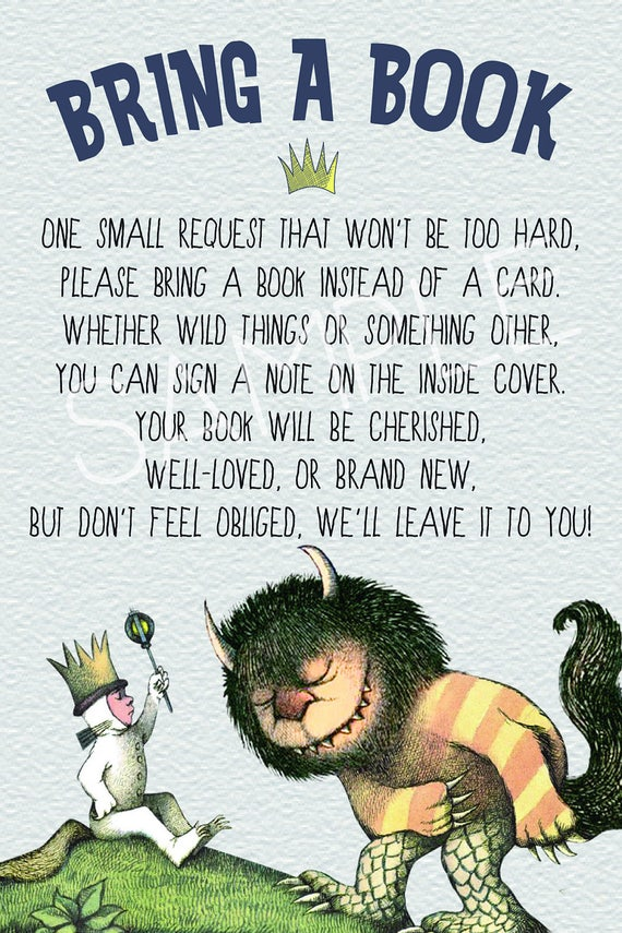 where the wild things are baby shower invitation birthday, Baby shower invitations