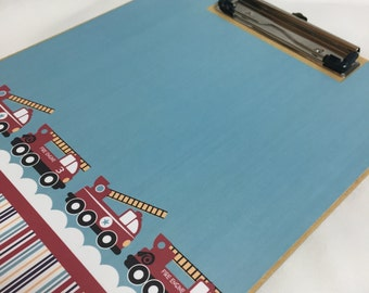 FIRE TRUCK CLIPBOARD