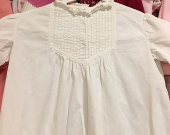 1920s Baptism Gown 6/12 Months