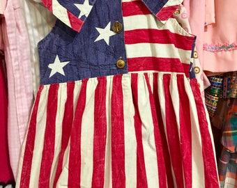 Stars and Stripes Dress Girls 5